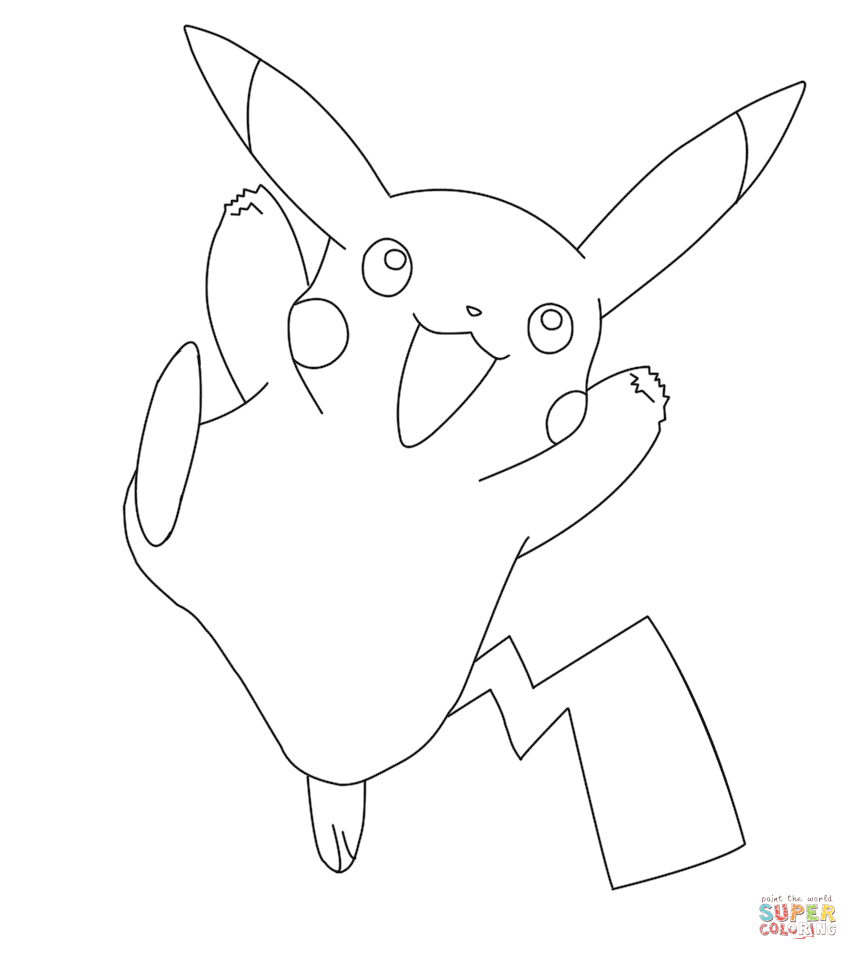 Line Art Grade 2 : Desenhos do pikachu para imprimir e colorir educação online